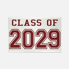 Class of 2029 (Red) Rectangle Magnet