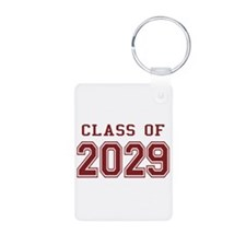 Class of 2029 (Red) Keychains