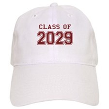 Class of 2029 (Red) Baseball Cap