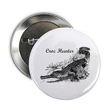 """Croc Hunter 2.25"""" Button (100 pack)"""