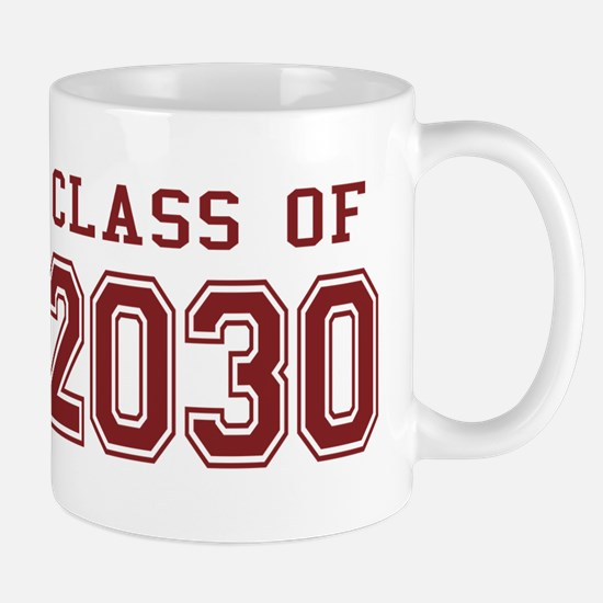 Class of 2030 (Red) Mug
