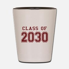 Class of 2030 (Red) Shot Glass