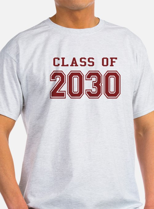 Class of 2030 (Red) T-Shirt