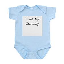 I Love My Grandaddy/Boy Infant Bodysuit