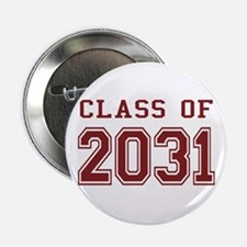 "Class of 2031 (Red) 2.25"" Button"