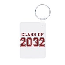 Class of 2032 Aluminum Photo Keychain