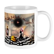 Don't get pulled in Alice Mug