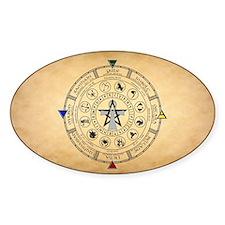 Wheel of the Year Zodiac Sabbats Decal