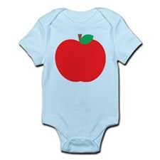 Cute Red Apple Body Suit