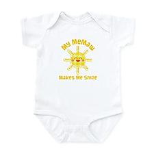 My Memaw Makes Me Laugh Infant Bodysuit