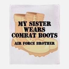 AF Brother Sis DCB Throw Blanket