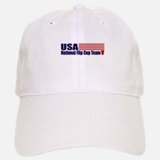 USA National Flip Cup Team Baseball Baseball Cap