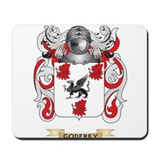 Godfrey Coat of Arms (Family Crest) Mousepad