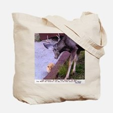 Tote Bag  Deer corn / Deer Cat