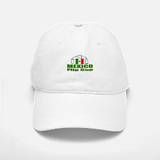 Mexico Flip Cup Baseball Baseball Cap