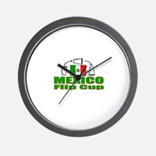 Mexico Flip Cup Wall Clock