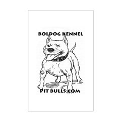 Boldog Kennel Pit Bulls.com Gear! Posters