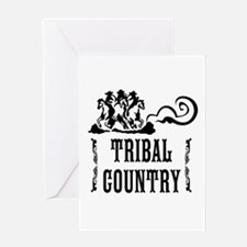 Tribal Country Greeting Card
