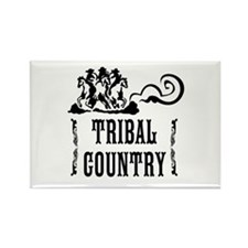 Tribal Country Rectangle Magnet