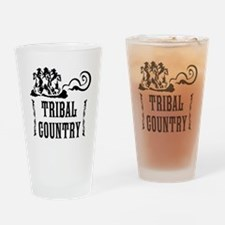 Tribal Country Drinking Glass