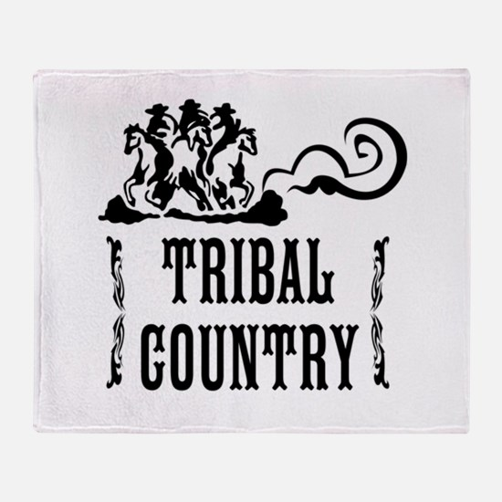 Tribal Country Throw Blanket