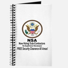 NSA Now Hiring Sub-Contractors Journal