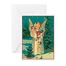 Cute Angel dolls Greeting Cards (Pk of 10)