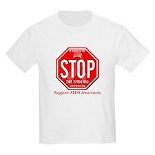 AIDS Awareness Kids T-Shirt
