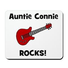 Auntie (Aunt) Connie Rocks Mousepad
