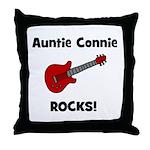 Auntie (Aunt) Connie Rocks Throw Pillow