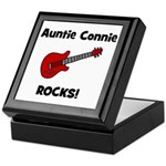 Auntie (Aunt) Connie Rocks Keepsake Box