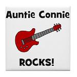 Auntie (Aunt) Connie Rocks Tile Coaster