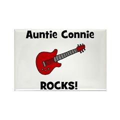 Auntie (Aunt) Connie Rocks Rectangle Magnet