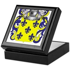 Gomez Coat of Arms (Family Crest) Keepsake Box