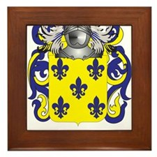 Gomez Coat of Arms (Family Crest) Framed Tile