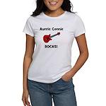Auntie (Aunt) Connie Rocks Women's T-Shirt