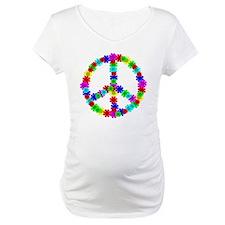 1960's Era Hippie Flower Peace S Shirt