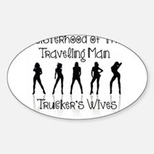 Sisterhood Trucker's Wives Decal