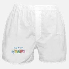 Aunt of Twins Blocks Boxer Shorts