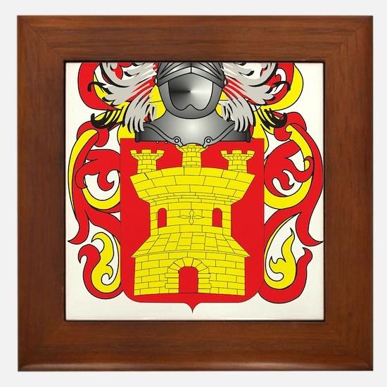 Gonzalo Coat of Arms (Family Crest) Framed Tile