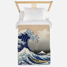 The Wave by Hokusai Twin Duvet