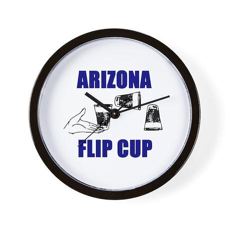 Arizona Flip Cup Wall Clock