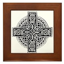 Celtic Cross 19 Framed Tile