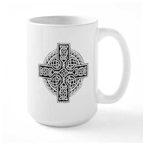 Celtic Cross 19 Large Mug