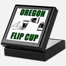Oregon Flip Cup Keepsake Box