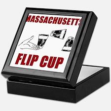 Massachusettes Flip Cup Keepsake Box