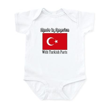 Turkish Parts Infant Bodysuit