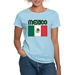 Mexico Women's Pink T-Shirt
