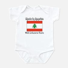 Lebanese Parts Infant Bodysuit
