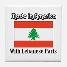 Lebanese Parts Tile Coaster